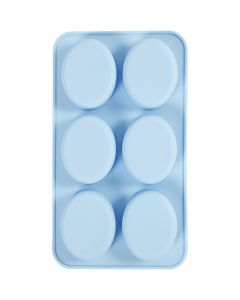 Stampo in silicone, H: 2,5 cm, L: 28 cm, L: 16 cm, misura buco 7,8 x 6,1 cm, 100 ml, 1 pz