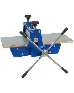 Pressa per stampa a blocchi, con ingranaggi, misura 40x70 cm, 1 pz