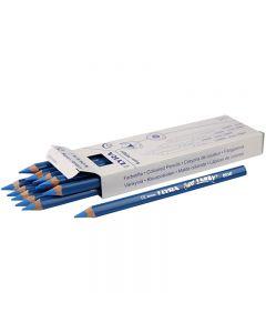 Super Ferby 1 matite colorate, L: 18 cm, mina 6.25 mm, blu, 12 pz/ 1 conf.