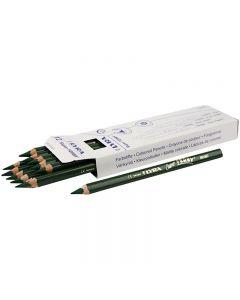 Super Ferby 1 matite colorate, L: 18 cm, mina 6.25 mm, verde, 12 pz/ 1 conf.