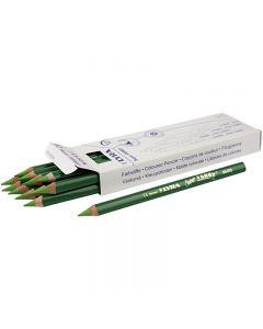 Super Ferby 1 matite colorate, L: 18 cm, mina 6.25 mm, verde chiaro, 12 pz/ 1 conf.