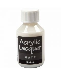 Vernice acrilica, opaco, 100 ml/ 1 bott.