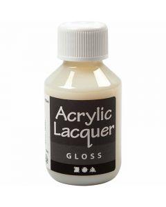Vernice acrilica, brillante, 100 ml/ 1 bott.