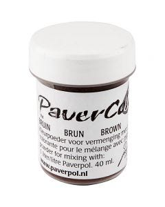 Pavercolor, marrone, 40 ml/ 1 bott.