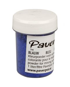 Pavercolor, blu, 40 ml/ 1 bott.