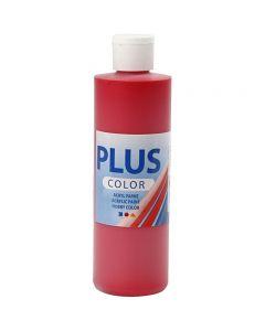 Plus Color Craft Paint, rosso cremisi, 250 ml/ 1 bott.