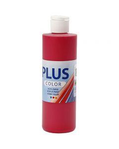 Plus Color Craft Paint, rosso lampone, 250 ml/ 1 bott.