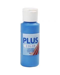Plus Color Craft Paint, blu primario, 60 ml/ 1 bott.