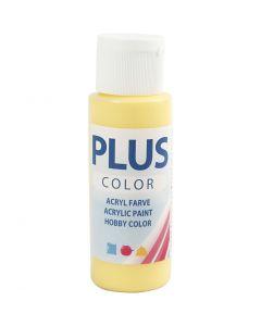 Plus Color Craft Paint, primrose yellow, 60 ml/ 1 bott.