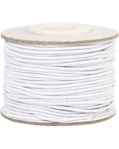 Corda elastica, spess. 1 mm, bianco, 25 m/ 1 rot.