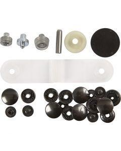 Bottone automatico - set principianti, diam: 15 mm, 1 set