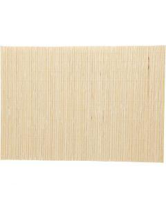 Tappetino di bambù per lavorare il feltro, misura 45x30 cm, 4 pz/ 1 conf.