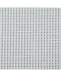 Tela Aida, L: 130 cm, 24 quadrati per 10 cm , bianco, 3 m/ 1 pz