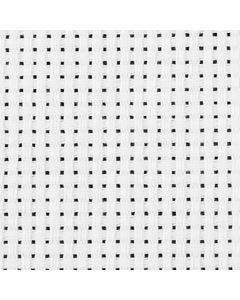 Tela Aida, L: 150 cm, 35 quadrati per 10 cm , bianco, 3 m/ 1 pz