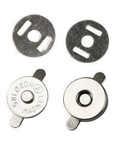 Bottone magnetico, diam: 18 mm, 25 pz/ 1 conf.