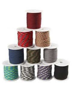 Corda di nylon, L: 5 mm, 10x10 m/ 1 conf.