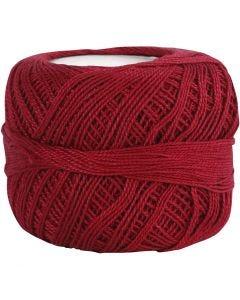 Filo di cotone mercerizzato, rosso antico, 20 g/ 1 gom.