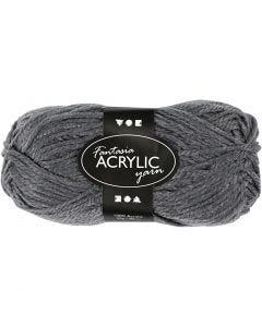 Filo acrilico Fantasia, L: 80 m, grigio, 50 g/ 1 gom.