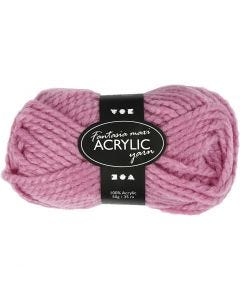 Filo acrilico Fantasia, L: 35 m, misura maxi , rosato, 50 g/ 1 gom.