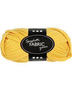 Filo in tessuto, L: 35 m, giallo, 100 g/ 1 gom.