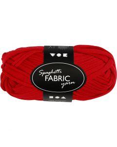 Filo in tessuto, L: 35 m, rosso, 100 g/ 1 gom.