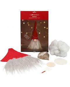 Gnomo scandinavo di Babbo Natale, H: 30 cm, 1 pz/ 1 conf.