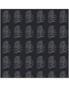 Stoffa, L: 145 cm, 140 g, grigio scuro, 1 risma