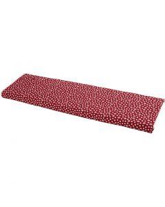 Stoffa, L: 145 cm, 140 g, rosso, 10 m/ 1 rot.