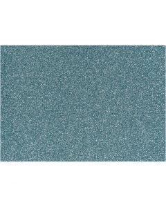 Pellicola da stirare, 148x210 mm, glitter, azzurro, 1 fgl.