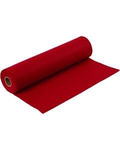 Feltro creativo, L: 45 cm, spess. 1,5 mm, 180-200 g, rosso antico, 5 m/ 1 rot.