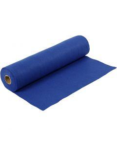 Feltro creativo, L: 45 cm, spess. 1,5 mm, 180-200 g, blu, 5 m/ 1 rot.