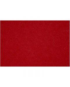 Feltro, 42x60 cm, spess. 3 mm, rosso antico, 1 fgl.