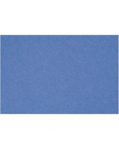 Feltro, 42x60 cm, spess. 3 mm, blu, 1 fgl.