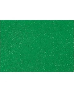 Feltro, A4, 210x297 mm, spess. 1 mm, verde, 10 fgl./ 1 conf.