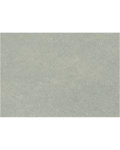 Feltro, A4, 210x297 mm, spess. 1 mm, grigio, 10 fgl./ 1 conf.