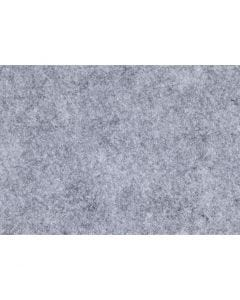 Feltro creativo, A4, 210x297 mm, spess. 1,5-2 mm, ruvido, grigio, 10 fgl./ 1 conf.