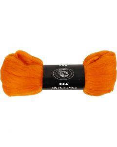 Lana, spess. 21 my, arancio, 100 g/ 1 conf.