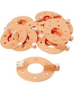 Pompom Maker, diam: 7 cm, 12 pz/ 1 conf.
