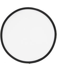 Frisbee, diam: 25 cm, bianco, 1 pz