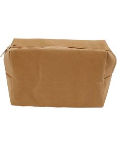 Bustina, misura 16,5x6,5x10 cm, marrone chiaro, 1 pz