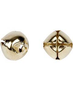 Campanellini, diam: 8+10+13 mm, oro, 18 asst./ 1 conf.
