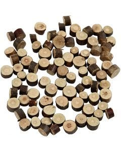 Misto legno, diam: 7-10 mm, spess. 4-5 mm, 230 g/ 1 conf.