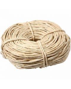 Corda di granturco, L: 3,5-4 mm, natural, 500 g/ 1 pacch.
