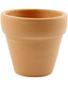 Vasi da fiori, H: 4,2 cm, diam: 5 cm, 48 pz/ 1 scat.