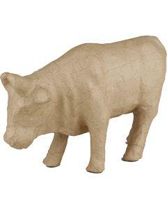Mucca, H: 15 cm, L: 23 cm, 1 pz