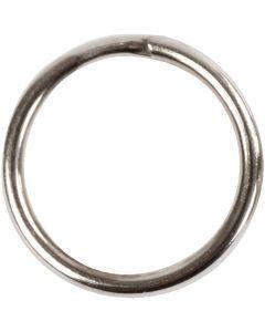 Anelli portachiavi, diam: 12 mm, 10 pz/ 1 conf.