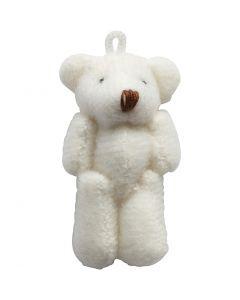 Mini orsetto, misura 4x2,5 cm, 6 pz/ 1 conf.