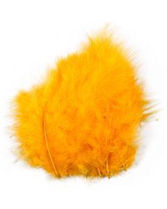 Piume, misura 5-12 cm, giallo, 15 pz/ 1 conf.