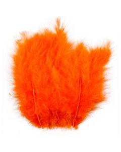 Piume, misura 5-12 cm, arancio, 15 pz/ 1 conf.