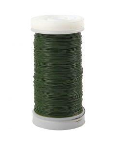 Filo da fiorista, spess. 0,31 mm, 100 g, verde, 160 m/ 1 rot.